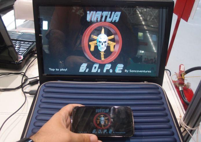Desenvolvedores divulgam jogos baseados no BOPE durante a SBGames (4/6)