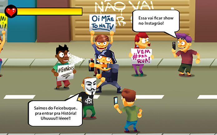 Desenvolvedor do Ceará cria game para ironizar protestos (2/3)